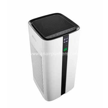 Large Smart Air Purifier With Temperature Display